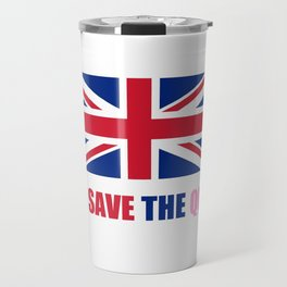 motto of uk 2– god save the queen Travel Mug
