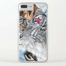 Soldier of Winter Clear iPhone Case