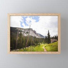 Into The Mountains Framed Mini Art Print