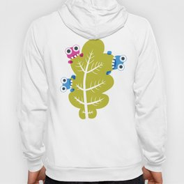 Bugs Eat Green Leaf Hoody