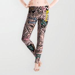 Kamasutra LOVE - Flesh Pink Leggings