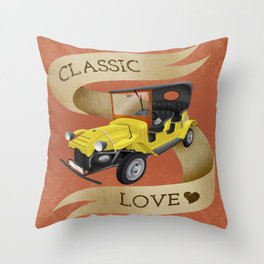 Classic love Throw Pillow