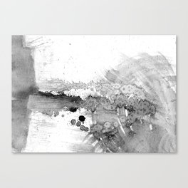 grey force, grey electricity Canvas Print