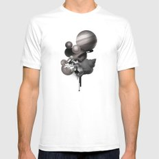 solar system White Mens Fitted Tee MEDIUM
