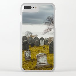 Old Burial Hill, Salem, MA Clear iPhone Case