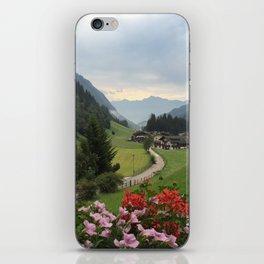 Vipiteno landscape iPhone Skin