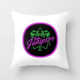San Junipero Throw Pillow