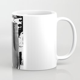Vintage Ford Front End Digital Art Coffee Mug