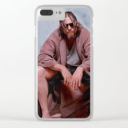 The Big Lebowski - Loser Clear iPhone Case