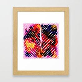 Wild Leaf Framed Art Print