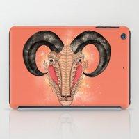 aries iPad Cases featuring Aries by Vibeke Koehler