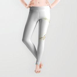 Original Ballet Dance Drawing Leggings
