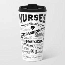 Nurses Rock Travel Mug