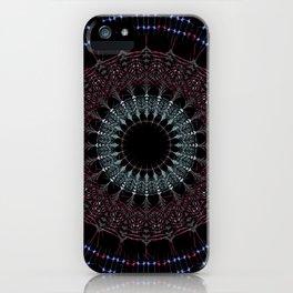 Buddhist Mandala- Bohemian sacred geometry iPhone Case