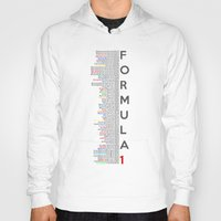 formula 1 Hoodies featuring Formula 1 Champions by Vehicle