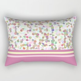 Lots of Dots with Mauve Rectangular Pillow
