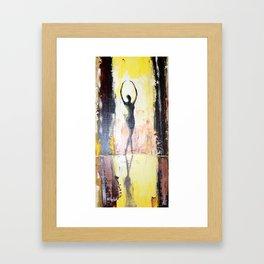 Port de bras Framed Art Print