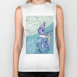 Motorcycle girl Biker Tank