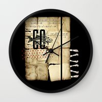 Fish. Folly. Wall Clock