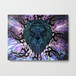 Lions Awakening Metal Print