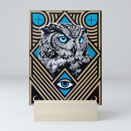 The Owls Are Not What They Seem Mini Art Print