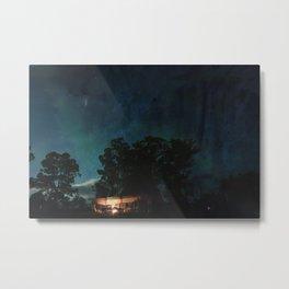 Night Stable Metal Print