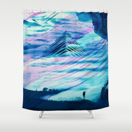 Pyramid Isolation Shower Curtain