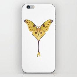 Comet moth (Argema mittrei) iPhone Skin