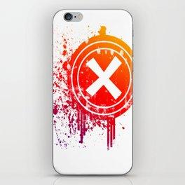 X vector iPhone Skin