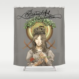 Beautiful Disposition Shower Curtain