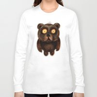teddy bear Long Sleeve T-shirts featuring Teddy Bear by Riccardo Pertici