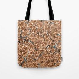 Organic Vintage Texture Tote Bag