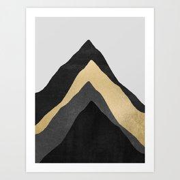 Four Mountains Art Print