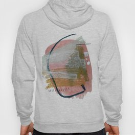 New Mexico: a pretty mixed media abstract in a variety of colors Hoody