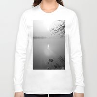 serenity Long Sleeve T-shirts featuring serenity by  Agostino Lo Coco