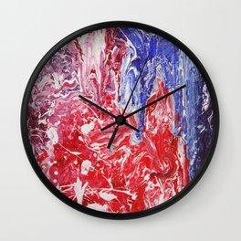Inferno II Wall Clock