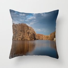 Apalachicola River  Throw Pillow