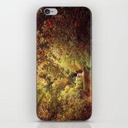 Autumn Weavers iPhone Skin