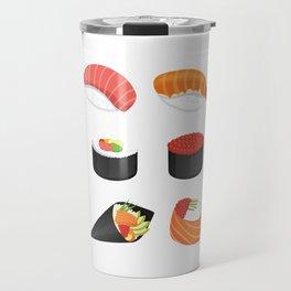 I Love Sushi Travel Mug