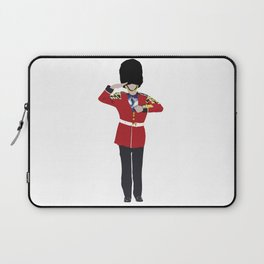 British Spirit Animal Laptop Sleeve