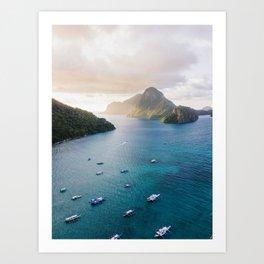 island life #society6 #decor #buyart Art Print