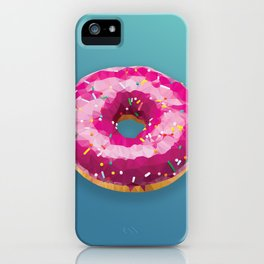 Lowpoly Donut iPhone Case
