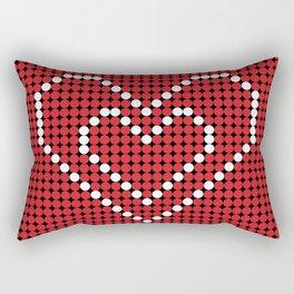 Valentine's Heart Rectangular Pillow