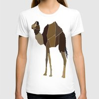 camel T-shirts featuring Camel by ANIMALS + BLACK
