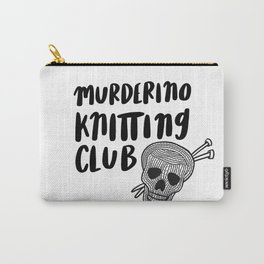 Murderino knitting club Carry-All Pouch