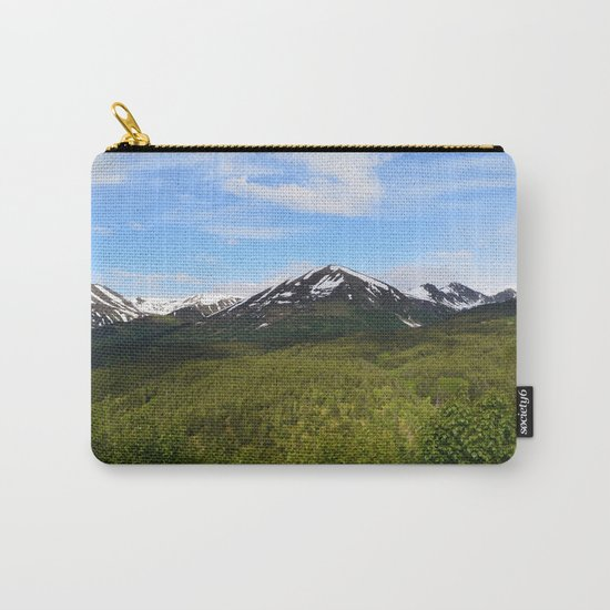 Summer Greens II Carry-All Pouch