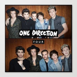 "One direction ""four"" album cover Canvas Print"