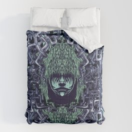 Boy with Labirinth Horns Comforters