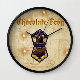 Chocolate Frog Wall Clock