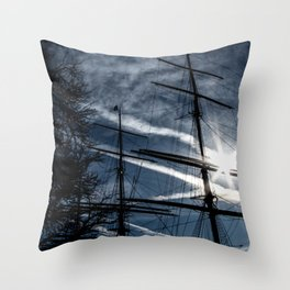 Sailing to the Sun Throw Pillow